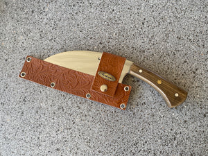 "7"" Cutelo / Serbian Knife / Cleaver SS430 Full Tang structure"
