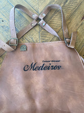 Load image into Gallery viewer, Custom Leather Apron Facas Medeiros