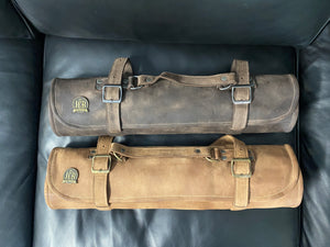 Chef Roll bag Leather case 7 Knives JCB Medeiros 01