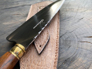 "8"" Chef Knife Picanha Carbon Steel 1095"