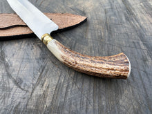 "Load image into Gallery viewer, 8"" Chef Knife Filework Antler 01"
