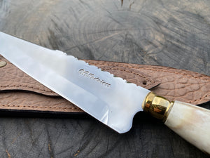 "8"" Chef Knife Filework Antler 03"