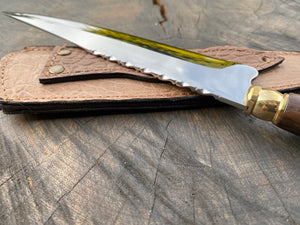 "8"" Chef Knife Filework Antler 04"