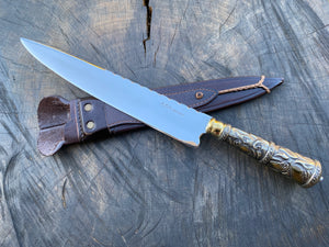 "10"" Alpaca Filework Chef Knife - 03"