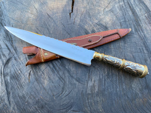 "10"" Alpaca Filework Chef Knife - 04"