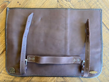 Load image into Gallery viewer, Custom Chef Roll bag Leather case JCB Medeiros 05