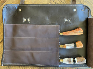 Custom Chef Roll bag Leather case JCB Medeiros 05