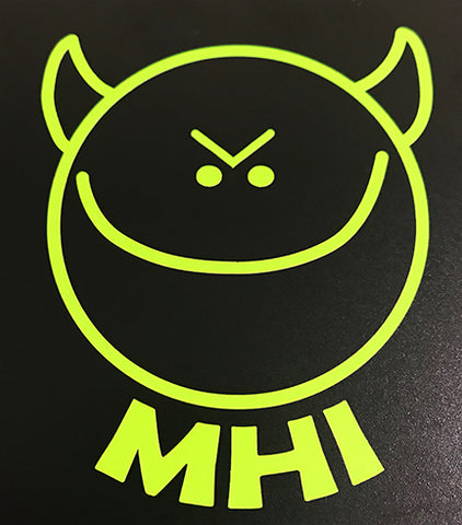 MHI Vinyl Sticker (neon green)