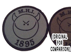 "MHI ""Smiley"" Patch (Sage Variant WITH Velcro)"