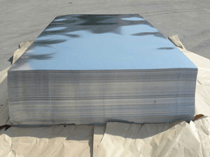 Alloy 1100 Aluminium Plain Sheet 1500x3000x2.4mm