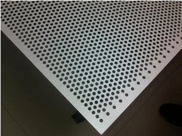 Aluminium Perforated Sheet 8mm Hole 12mm Pitch  4'x8'x1.5mm