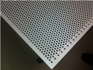 Aluminium Perforated Sheet 8mm Hole 12mm Pitch  4'x8'x1.2mm