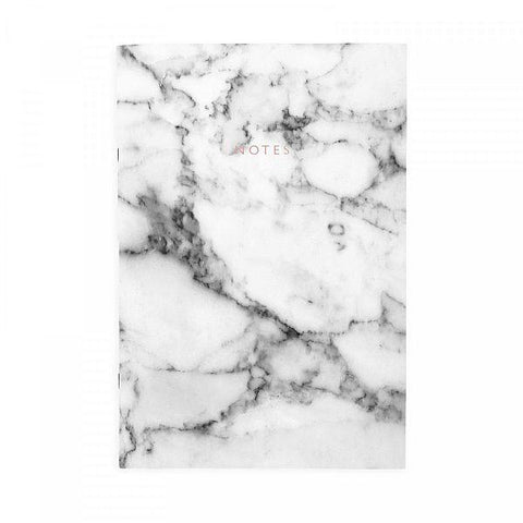 Marble A4ish Notebook by Ohh Deer