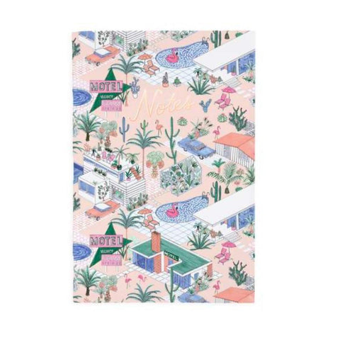 Palm Springs A4ish Notebook by Ohh Deer
