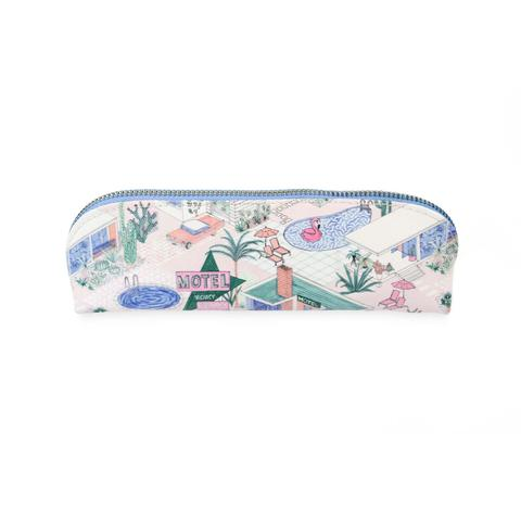 Palm Springs Pencil Case with Copper Zip by Ohh Deer