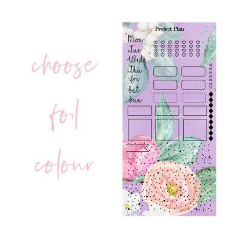 Foil Lilac Hobonichi Weeks Kit