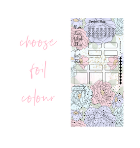 Foil Pastel Bouquet Hobonichi Weeks Kit