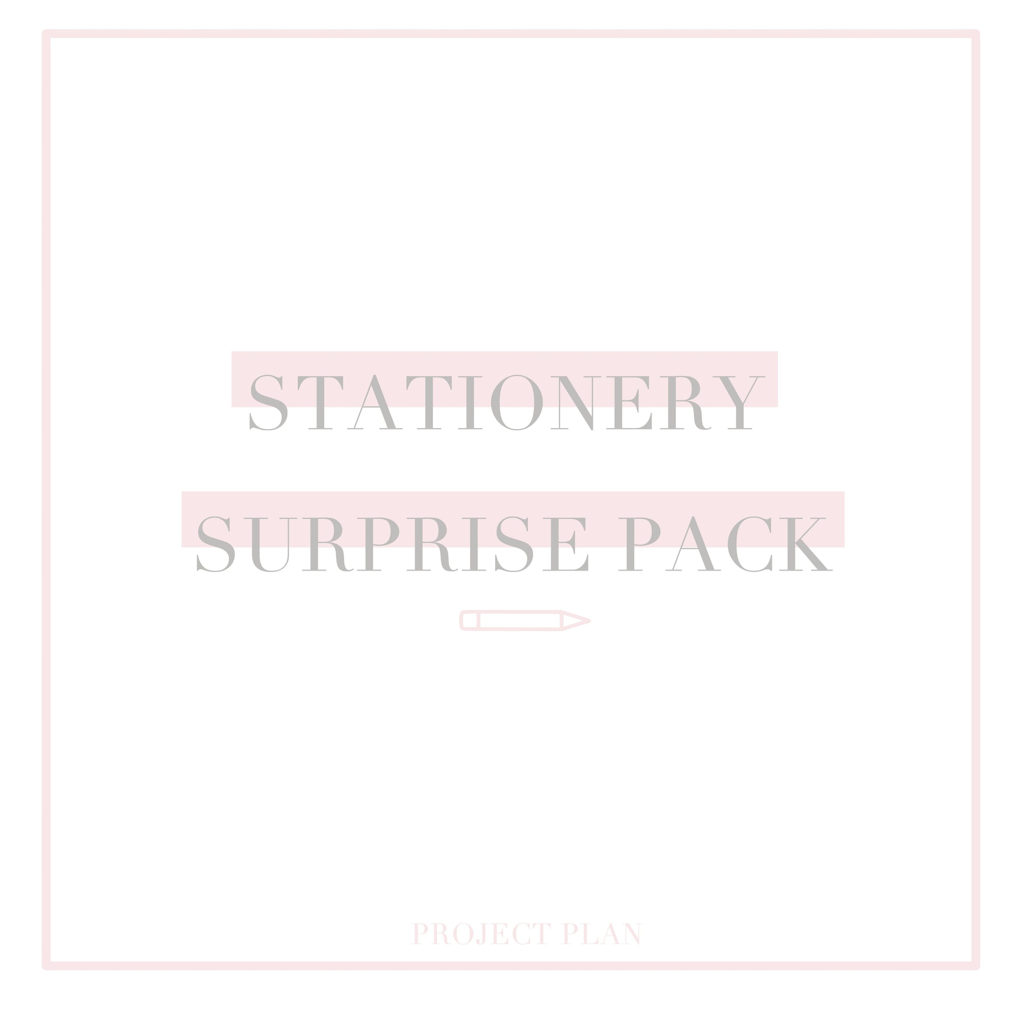 Stationery Surprise Pack
