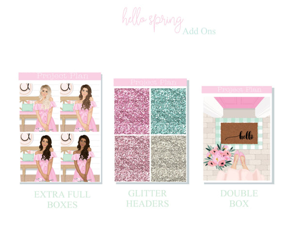 Hello Spring Mini Kit