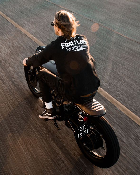 Fast Lane Long sleeve - Black