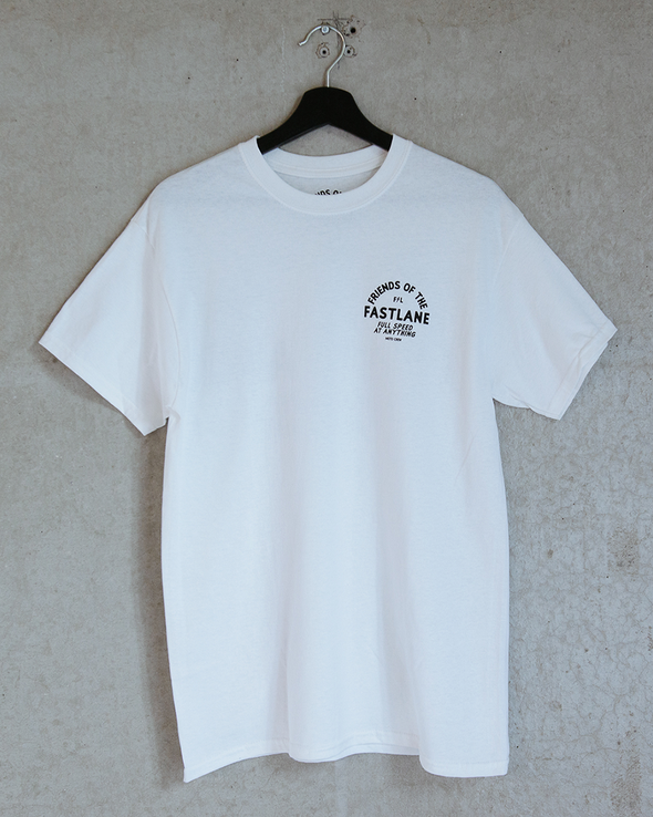 Friends Logo Tee - White
