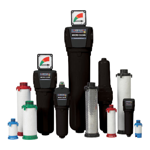 Micro Clean Compressed Air Line Filters