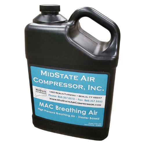 Breathing Air Oil - High Pressure Reciprocating Air Compressor Oil (MAC-HPBA-1GAL)