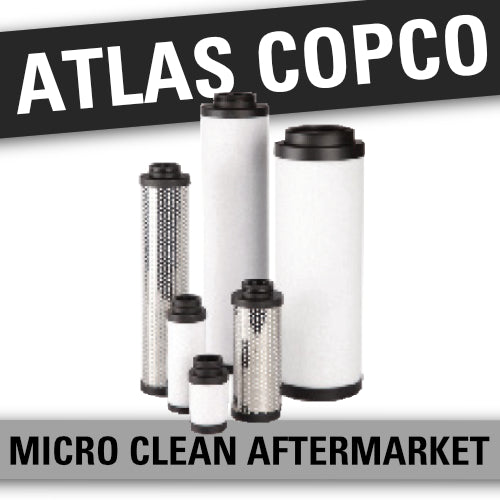 Atlas Copco Line Filter Replacement Elements DD(1202), PD(1202), QD(1202)