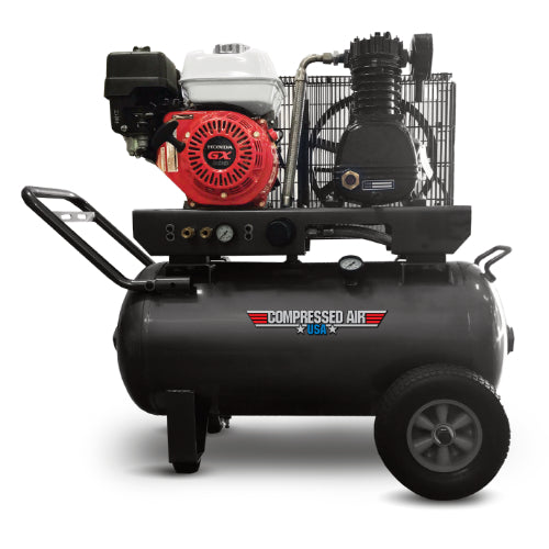 5.5HP CAUSA Gas Portable Reciprocating Air Compressor 20gal (RS05-2G)
