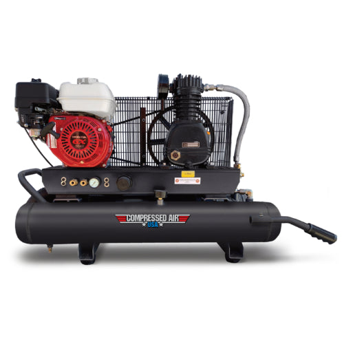 5.5HP CAUSA Gas Portable Reciprocating Air Compressor 10gal (RS05-1G)