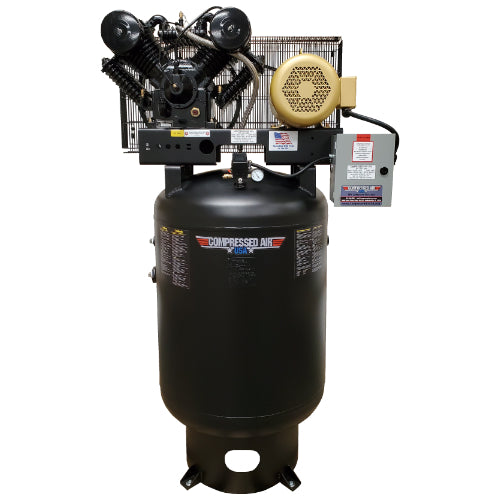 10HP CAUSA Reciprocating Air Compressor 120gal Vertical (RS10)