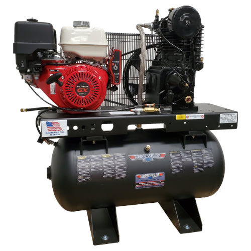 13HP CAUSA Gas Portable Reciprocating Air Compressor 30gal (RS13-3G)