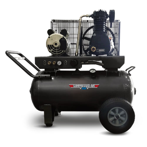 2HP CAUSA Portable Electric Reciprocating Air Compressor 20gal (RS02-2P)