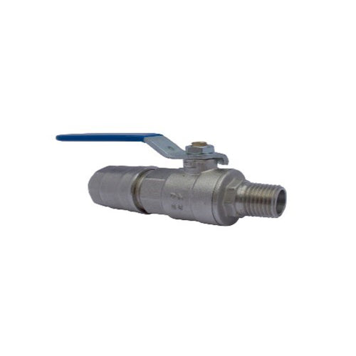 "Ball Valve (Tube to 1/2"" Male)"