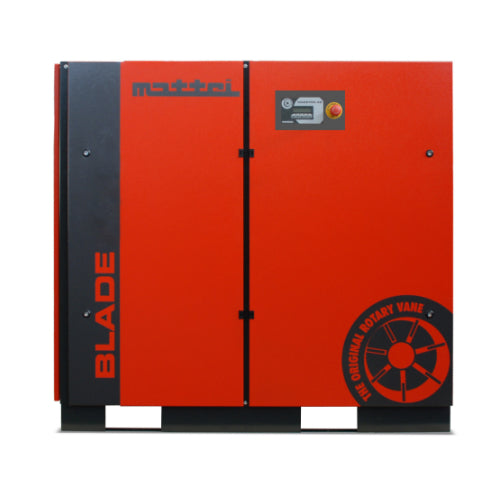 30HP Mattei Rotary Vane Base Mounted Air Compressor (BLADE 22 HX)