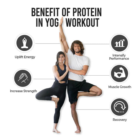Benefits of protein in YOGA