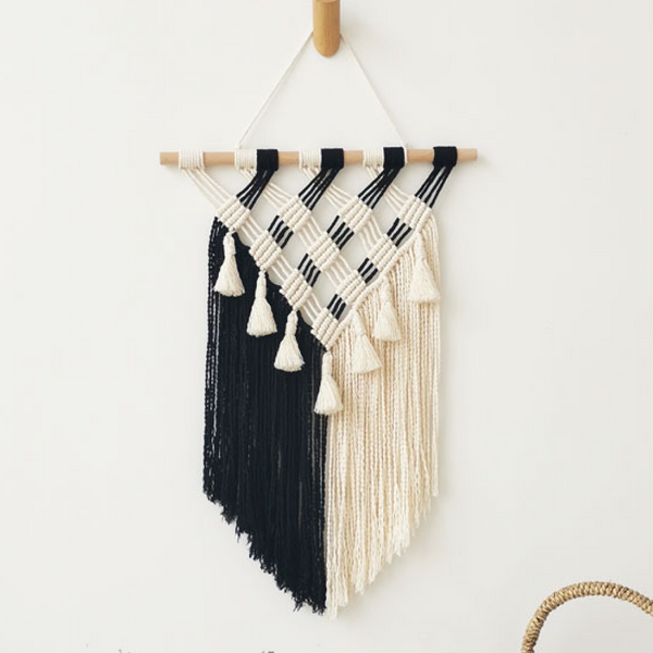 Icono Hand Knotted Wall Hanging