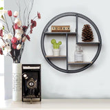 Sheldon Round Wall Shelf