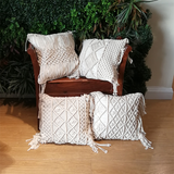 Fes Macrame Pillow Covers