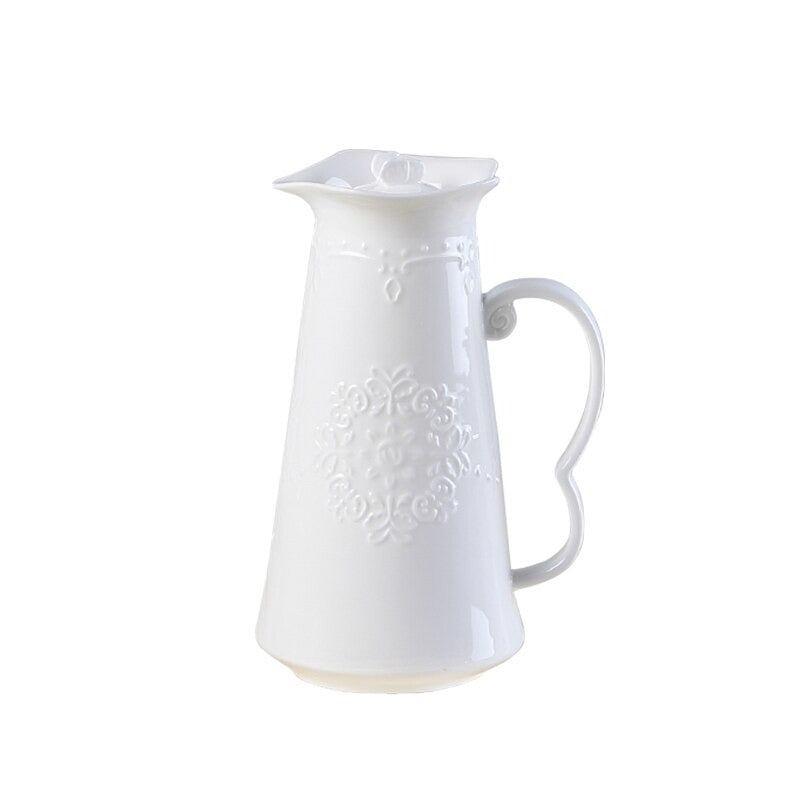 Blanche Porcelain Pitcher