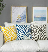 Gigi Graphic Zebra Pillow Covers