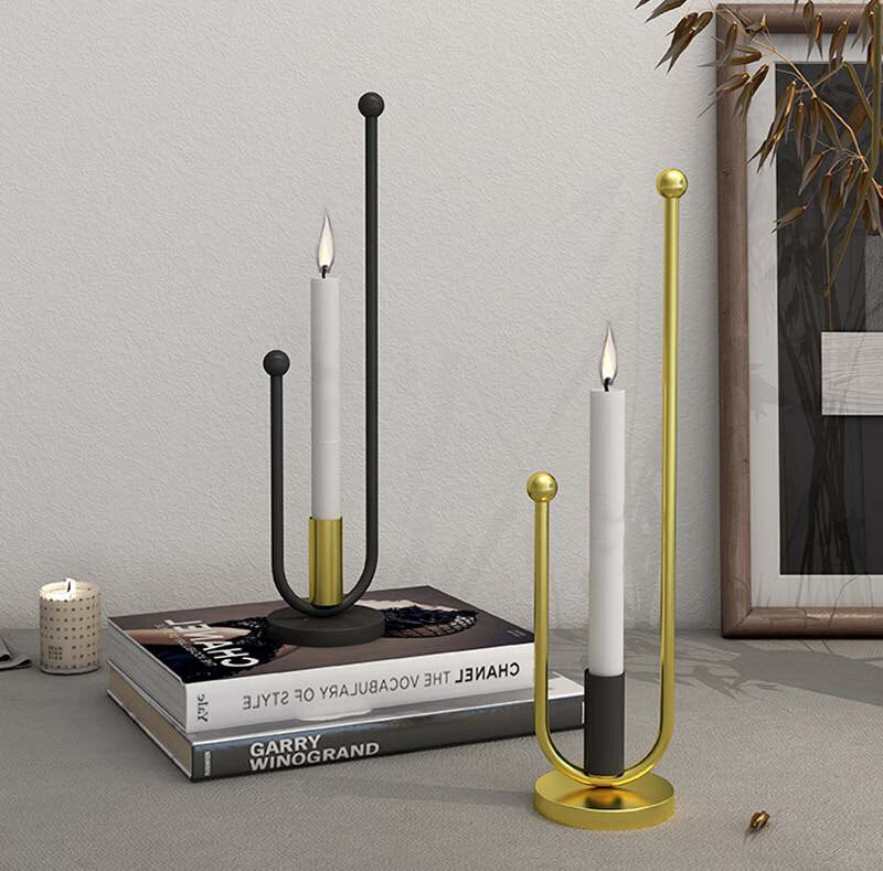 Pipe Dream Candle Holders