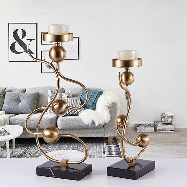 Twisted Light Candle Holders