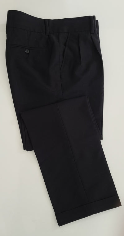 Blueburry Royale Blacl Self pants