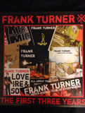 Frank Turner : The First Three Years (LP, Comp + LP, Comp, Red + Ltd)