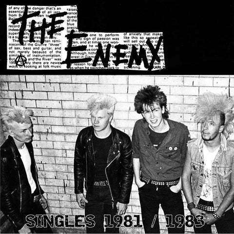 "The Enemy (4) : Singles 1981 / 1983 (12"", Comp)"