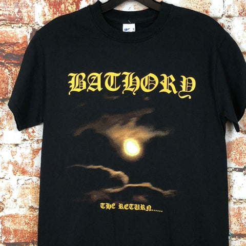 "Bathory ""The Return,"" new band shirt (S)"