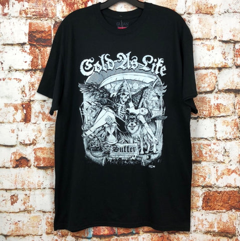 Cold As Life, used band shirt (L)