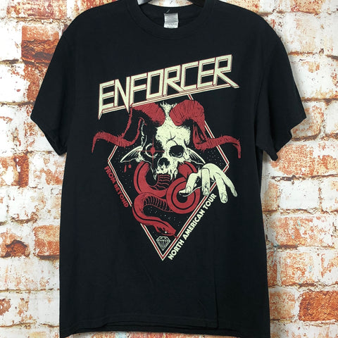 Enforcer, used band shirt (M)