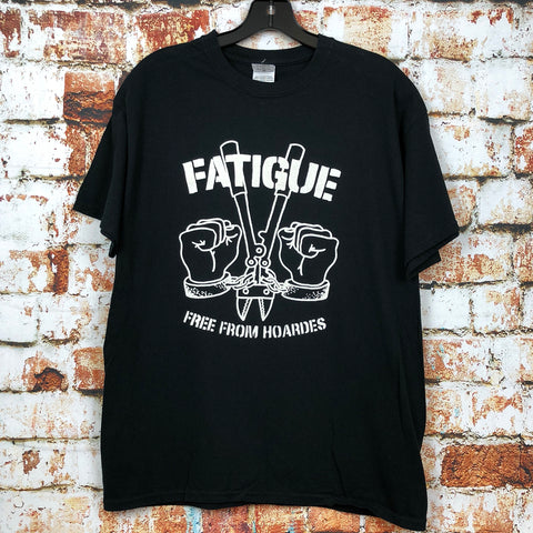 Fatigue, used band shirt (L)